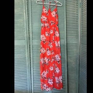 Long Floral Summer Dress